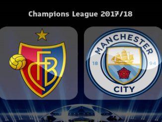 Manchester City Menang Telak atas Basel, Laga Liga Champions