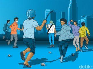 Cerita Santri Ponpes Sukabumi Diserang Oleh Geng Motor Bersenjata Tajam